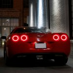 2009 Chevy Corvette C6 Halo LED Tail Lights Sequential Signals