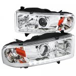 2001 Dodge Ram Retrofit Projector Headlights LED DRL