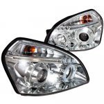 Hyundai Tucson 2005-2009 Projector Headlights with LED