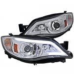 Subaru WRX 2008-2014 LED DRL Projector Headlights
