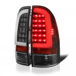 Toyota Tacoma 2005-2010 Black LED Tube LED Tail Lights