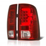 2010 Dodge Ram 3500 Custom LED Tail Lights