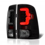 2012 Dodge Ram Black Smoked Custom LED Tail Lights
