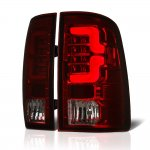 2010 Dodge Ram 3500 Tinted Custom LED Tail Lights