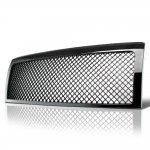 2014 Ford F150 Black Mesh Grille