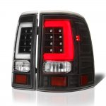 Ford Explorer 2002-2005 Black Tube LED Tail Lights