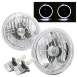 1973 Dodge Pickup Truck Halo LED Headlights Conversion Kit