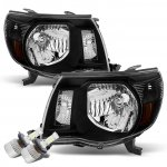 Toyota Tacoma 2005-2011 Black LED Headlights Conversion Kit