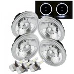 1968 Buick Special White Halo LED Headlights Conversion Kit