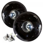 1972 Chevy Chevelle Black LED Projector Headlights Kit