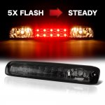 Chevy Silverado 3500 2001-2006 Smoked Flash LED Third Brake Light