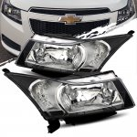 2012 Chevy Cruze Black Headlights