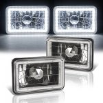Dodge Dakota 1987-1990 Black SMD LED Sealed Beam Headlight Conversion