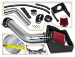 Lincoln Navigator 2007-2014 Cold Air Intake with Red Air Filter