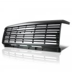 Chevy Silverado 2500HD 2015-2019 Black Grille
