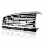 Chevy Silverado 2500HD 2015-2019 Chrome Front Grille