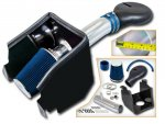 Dodge Ram 1994-2001 Cold Air Intake with Heat Shield and BlueFilter