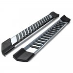 Ford F350 Super Duty Regular Cab 2008-2010 Running Boards Step Stainless 6 Inch