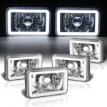 Ford LTD Crown Victoria 1988-1991 Halo Tube Sealed Beam Headlight Conversion Low and High Beams