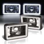1979 Cadillac Eldorado Black Halo Tube Sealed Beam Headlight Conversion