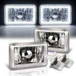 1976 Buick Skyhawk White LED Halo LED Headlights Conversion Kit