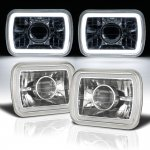 1980 Ford F150 Halo Tube Sealed Beam Projector Headlight Conversion