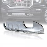 GMC Sierra 1500 2016-2018 Chrome Front Lower Bumper Skid Plate Cover