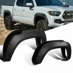 Toyota Tacoma 2016-2019 Fender Flares Pocket Rivet Textured