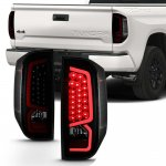 2014 Toyota Tundra Black Smoked LED Tail Lights