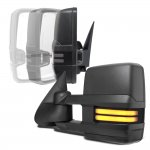 2000 Chevy Suburban Power Folding Towing Mirrors Smoked Tube LED Lights
