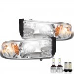 Dodge Ram 1994-2001 LED Headlight Bulbs Complete Kit