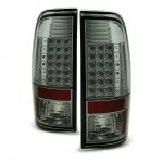 Ford F350 Super Duty 2008-2016 Smoked LED Tail Lights