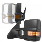 Toyota Tundra 2007-2021 Power Folding Tow Mirrors LED Lights