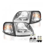1999 Ford F150 LED Headlight Bulbs Set Complete Kit