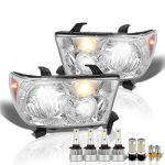 Toyota Tundra 2007-2013 LED Headlight Bulbs Set Complete Kit