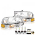 Chevy S10 1998-2004 LED Headlight Bulbs Set Complete Kit