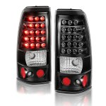 Chevy Silverado 2500HD 2003-2006 LED Tail Lights Black