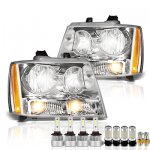 Chevy Tahoe 2007-2014 Headlights LED Bulbs Complete Kit