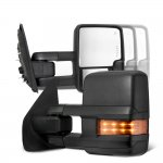 Ford F550 Super Duty 2008-2016 Tow Mirrors LED Lights Power Heated