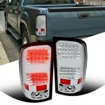 2009 GMC Sierra Clear LED Tail Lights