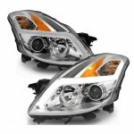 Nissan Altima Coupe 2008-2009 LED DRL Projector Headlights