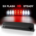 Dodge Ram 2500 2010-2018 Black Smoked Flash LED Third Brake Light