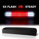 Dodge Ram 2002-2008 Black Smoked Flash LED Third Brake Light