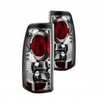 Chevy Silverado 1999-2002 Chrome Altezza Tail Lights