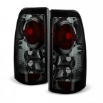 GMC Sierra 3500 2001-2006 Smoked Altezza Tail Lights