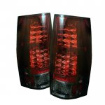 GMC Yukon 2007-2014 Red and Smoked LED Tail Lights