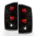 Dodge Ram 3500 2003-2006 Black Altezza Tail Lights