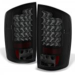 Dodge Ram 2002-2006 Black Smoked LED Tail Lights