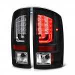 2005 Dodge Ram Black LED Tail Lights