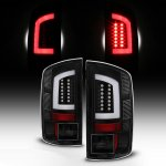 Dodge Ram 2002-2006 Black LED Tail Lights Tube